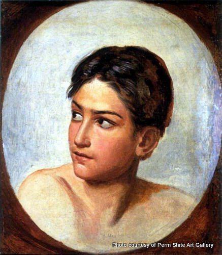 Alexander Andreyevich Ivanov Alexander Andreyevich Ivanov A Trembling Boy39s Head