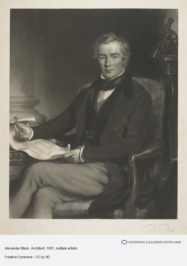 Alexander Black (architect) Alexander Black about 1797 1858 Architect National Galleries