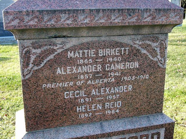Alexander Cameron Rutherford Alexander Cameron Rutherford 1857 1941 Find A Grave Memorial