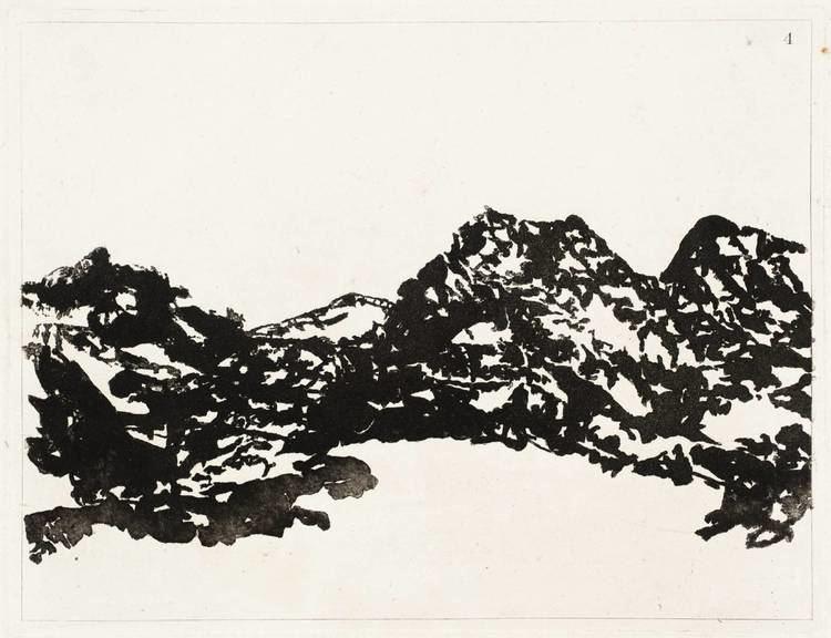 Alexander Cozens Cozens Alexander Fine Arts 17th18th c The Red List
