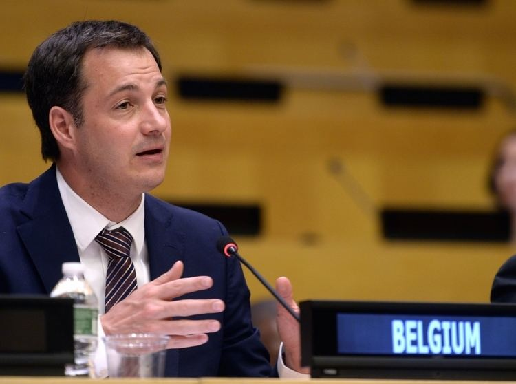 Alexander De Croo Intervention dAlexander De Croo au Conseil de scurit de lONU