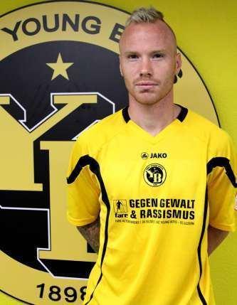 Alexander Farnerud Jetzt gewinnen Matchtrikot von YBFarnerud gegen Luzern