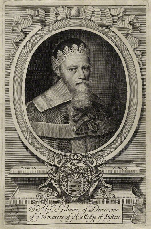 Alexander Gibson, Lord Durie I