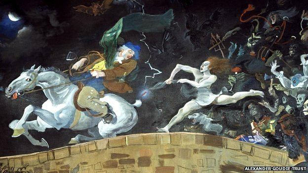 Alexander Goudie BBC Arts amp Culture Alexander Goudie and the witch from