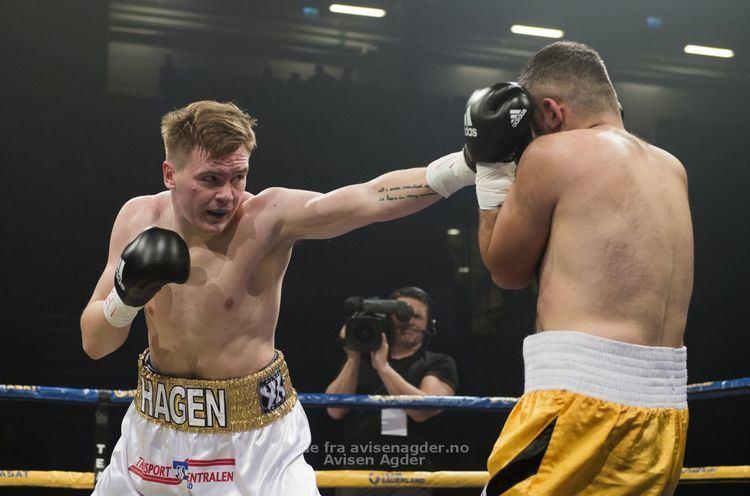 Alexander Hagen Alexander Hagen fr kamp i september