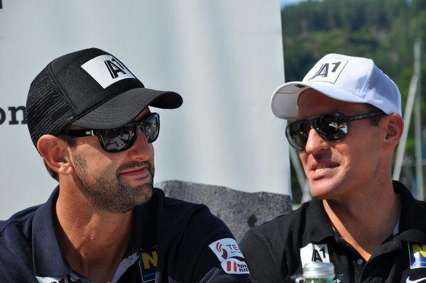 Alexander Horst Clemens Doppler mit Sportpartner Alexander Horst