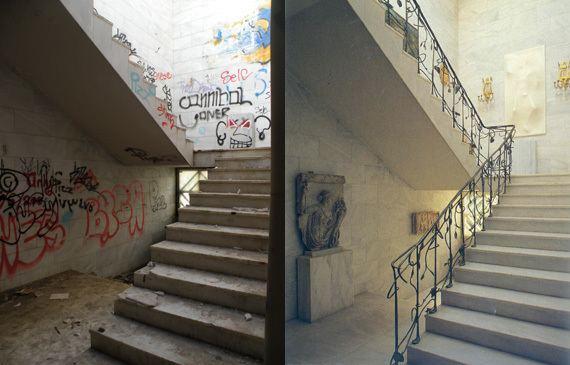 Alexander Iolas Deserted Places Villa Iolas Athens