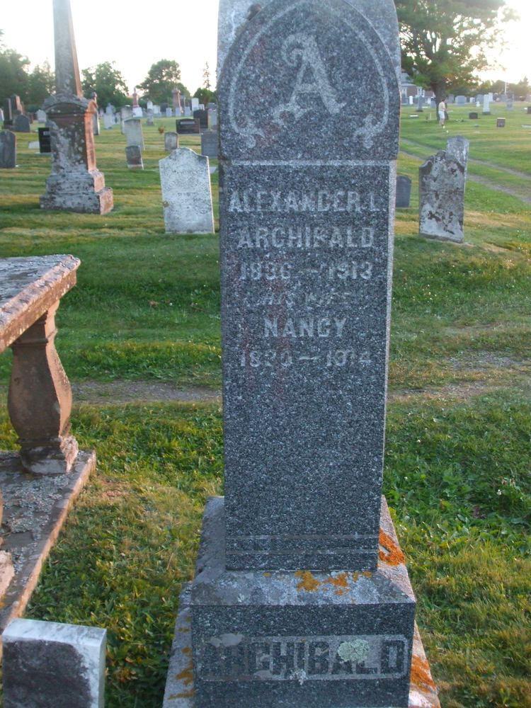Alexander Lackie Archibald Alexander Lackie Archibald 1836 1913 Find A Grave Memorial