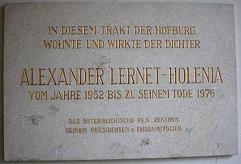 Alexander Lernet-Holenia Alexander LernetHolenia Wikipedia the free encyclopedia