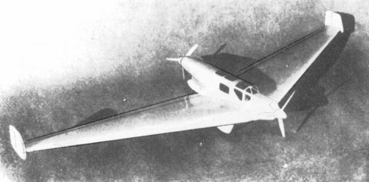 Alexander Lippisch Lippisch Nurflugels