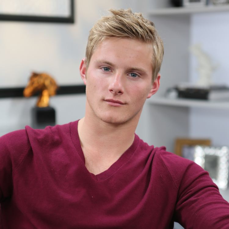 Alexander Ludwig Alexander Ludwig Vikings Interview Video POPSUGAR