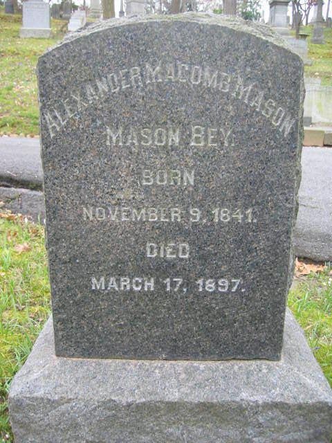 Alexander Macomb Mason Maj Alexander Macomb Mason 1841 1897 Find A Grave Memorial