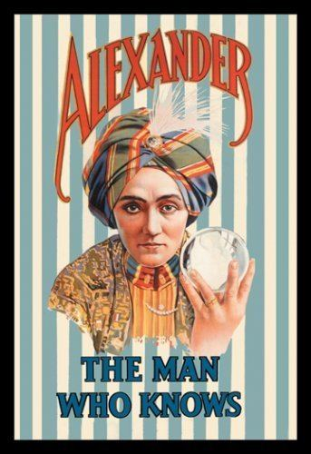 Alexander (magician) Carnegie Magic Detective The Man Who Knows