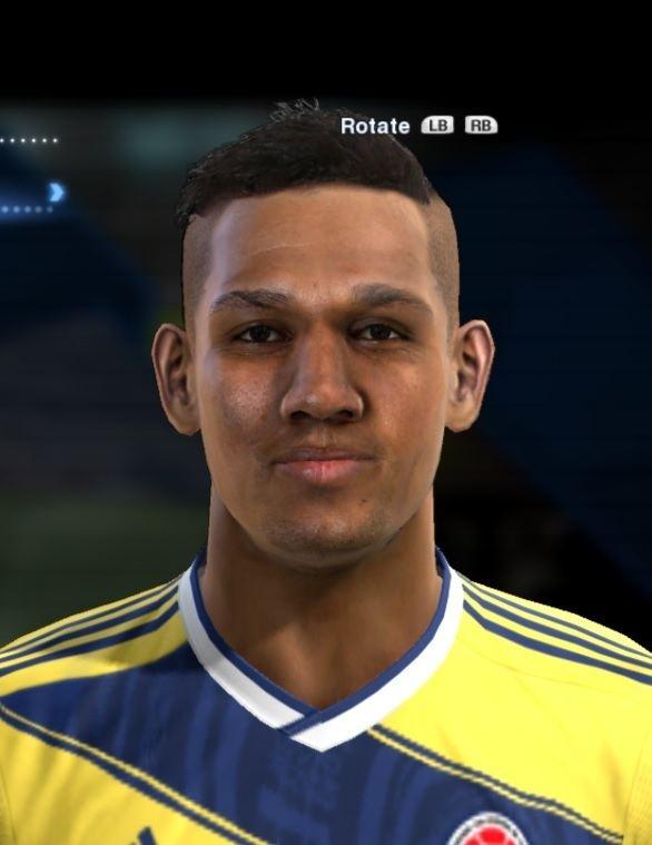 Alexander Mejia Alexander Mejia face for Pro Evolution Soccer PES 2013