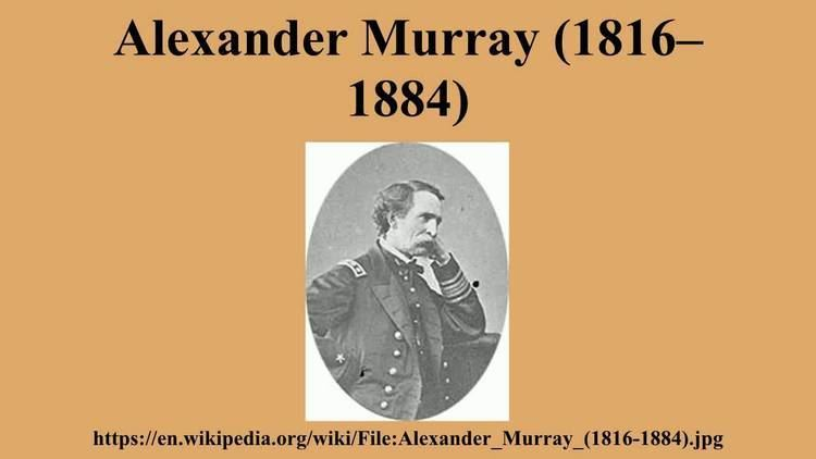 Alexander Murray (1816–1884) Alexander Murray 18161884 YouTube