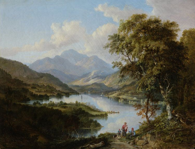 Alexander Nasmyth Loch Katrine Alexander Nasmyth National Trust for