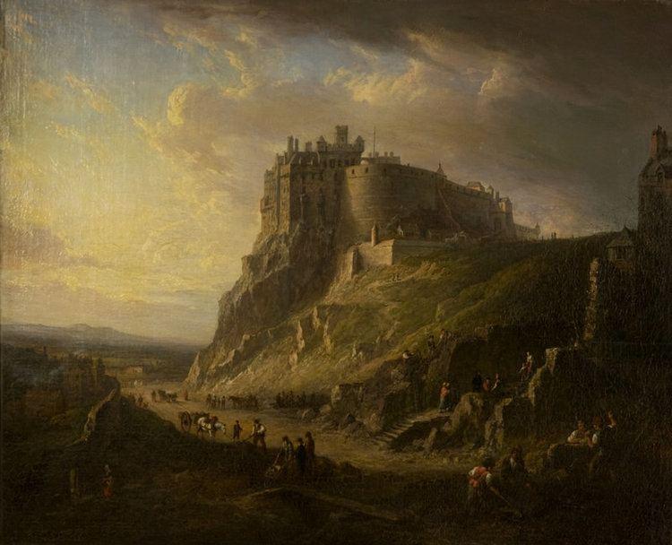 Alexander Nasmyth View of Edinburgh Castle Alexander Nasmyth National