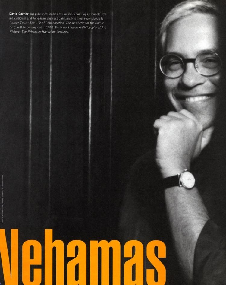 Alexander Nehamas BOMB Magazine Alexander Nehamas by David Carrier