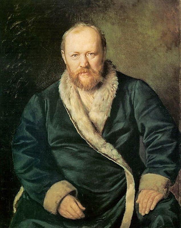Alexander Ostrovsky Portrait of the Playwright Alexander Ostrovsky Vasily