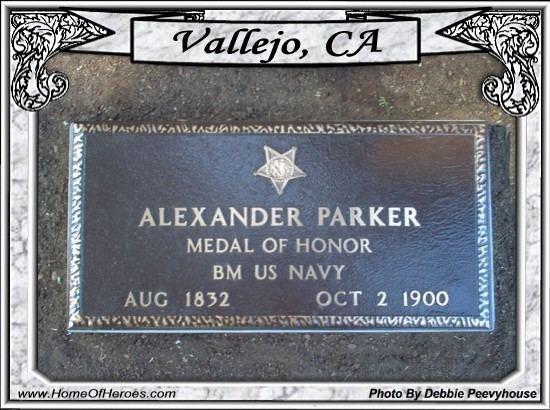 Alexander Parker (Medal of Honor) Photo of Grave site of MOH Recipient Alexander Parker