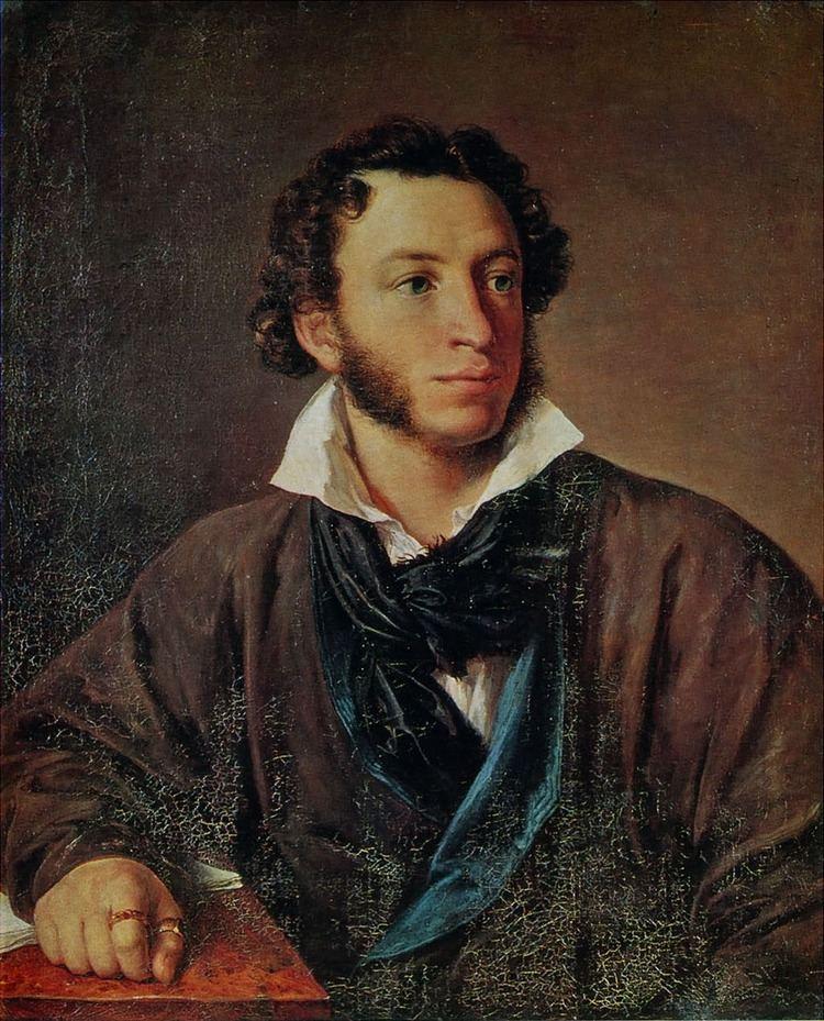 Alexander Pushkin Alexander Pushkin Wikipedia the free encyclopedia