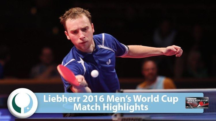 Alexander Shibaev (table tennis) 2016 Mens World Cup Highlights I Alexander Shibaev vs Stefan Fegerl