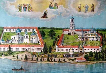 Alexander Svirsky AlexanderSvirsky Monastery Ermak Travel Guide