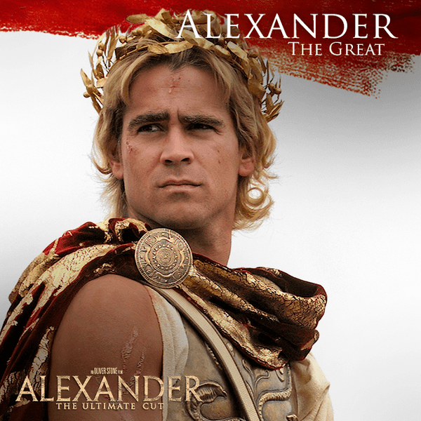 Alexander the Great Warner Bros on Twitter ColinFarrell is Alexander the Great the