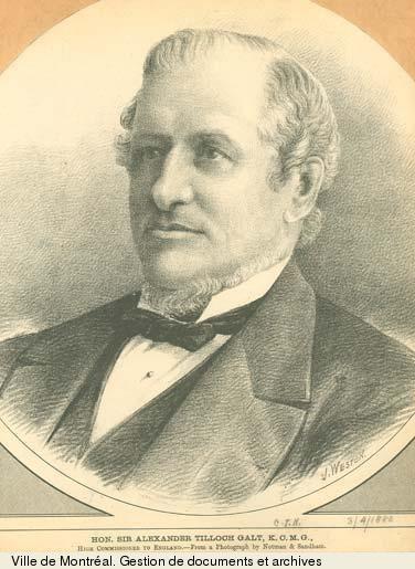 Alexander Tilloch Galt Biography GALT Sir ALEXANDER TILLOCH Volume XII 18911900
