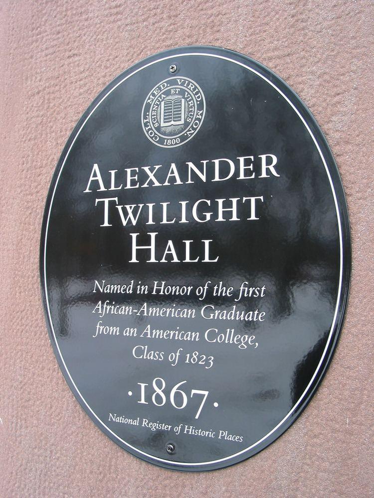 Alexander Twilight Alexander Twilight Hall 1867 Flickr Photo Sharing