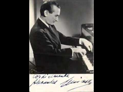 Alexander Uninsky ALEXANDRE UNINSKY plays LISZT Piano Sonata COMPLETE 1953