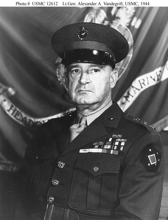 Alexander Vandegrift US PeopleVandegrift Alexander A General USMC