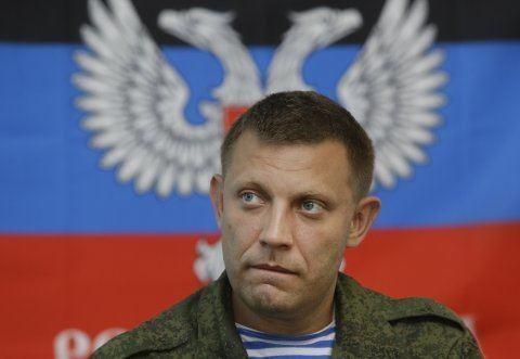 Alexander Zakharchenko Ukraine39s Rebel Leader Says He39s Got 1200 Troops Who