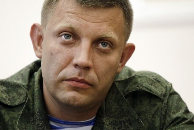 Alexander Zakharchenko New Ukrainian rebel leader gives Moscow distance Daily