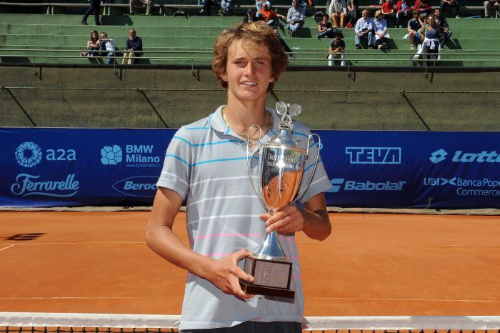Alexander Zverev ITF Tennis Pro Circuit Player Profile ZVEREV