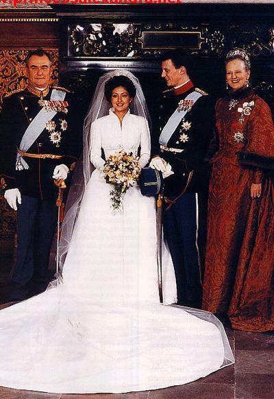 Alexandra, Countess of Frederiksborg Princess Alexandra and Joachim of Denmark The FashionBrides