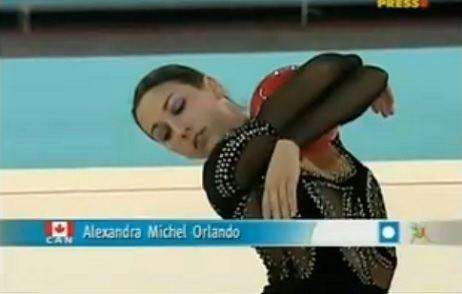 Alexandra Orlando Alexandra Orlando Ritmika Rhythmic Gymnastics Club