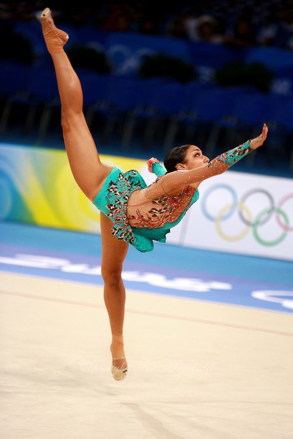 Alexandra Orlando OLYMPICS 2008 Rhythmic Gymnastics Tom Theobald