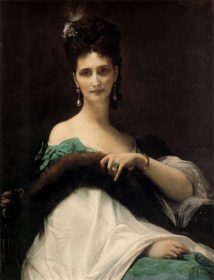 Alexandre Cabanel La Comtesse de Keller Alexandre Cabanel WikiArtorg