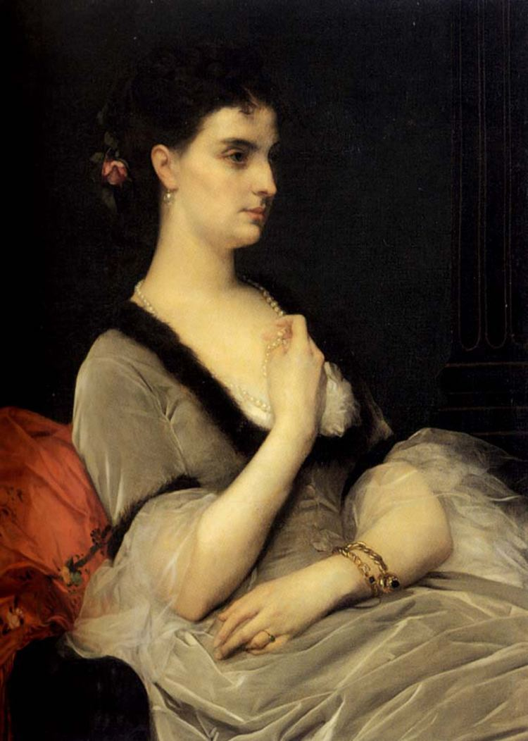 Alexandre Cabanel Engaving after Cabanelamp039s amp039The Sulamiteamp039