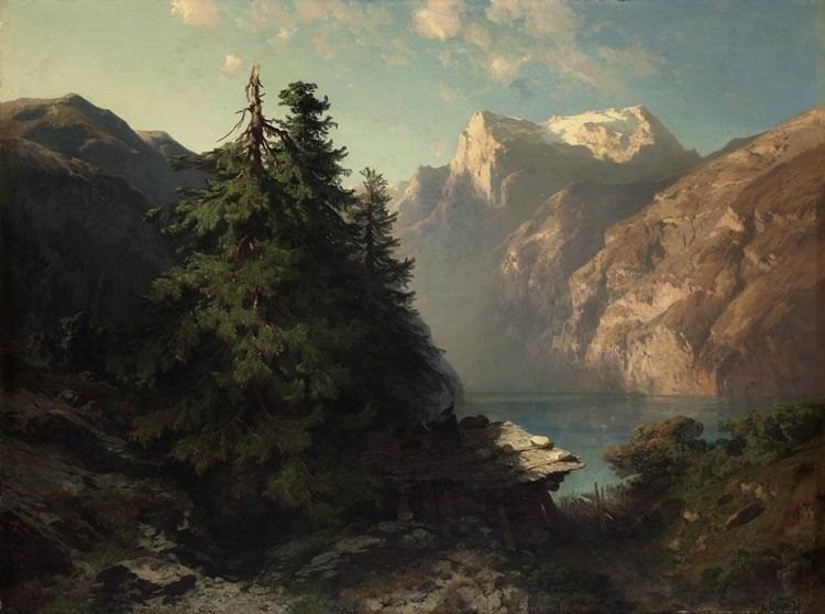 Alexandre Calame Alexandre Calame Works on Sale at Auction amp Biography