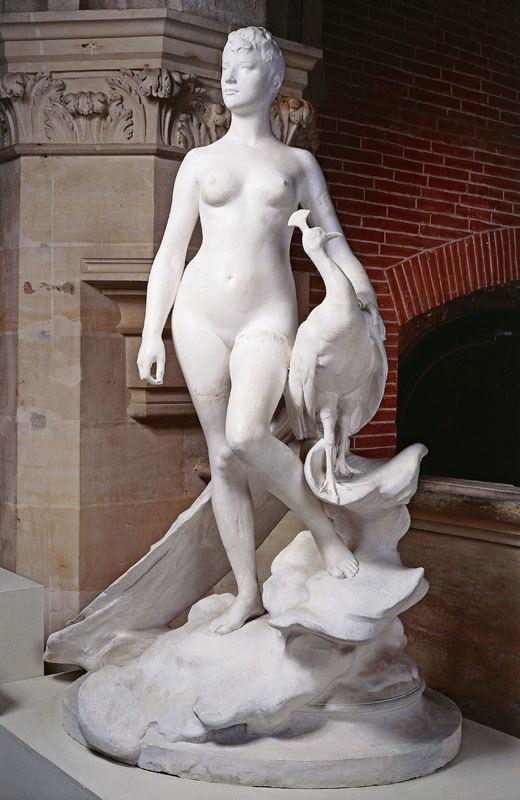 Alexandre Falguière FileAlexandre Falguire La Femme au paon Muse des Augustins