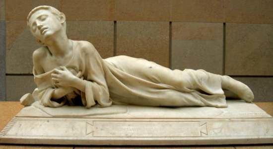 Alexandre Falguière Alexandre Falguire Tarcisius Muse dOrsay sculptures Pinterest