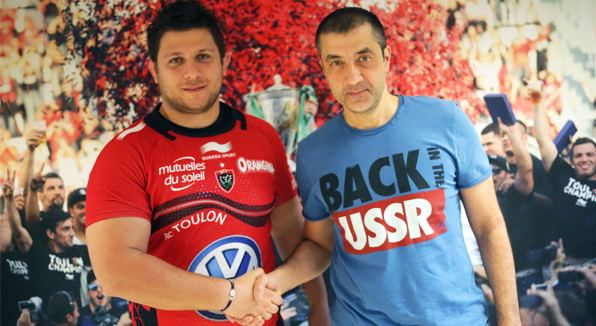 Alexandre Menini Alexandre Menini tait Berg aujourdhui RCT Rugby Club Toulonnais