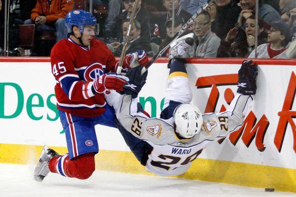 Alexandre Picard (ice hockey) Alexandre Picard Photos Photos Nashville Predators v Montreal