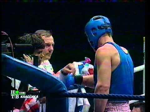 Alexei Lezin Amateur Boxing Vitali Klitschko vs Alexei Lezin YouTube