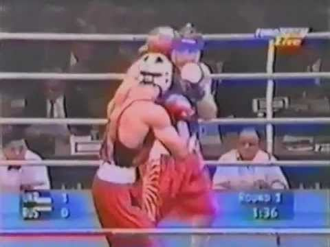Alexei Lezin Wladimir Klitschko VS Alexei Lezin Atlanta 1996 YouTube