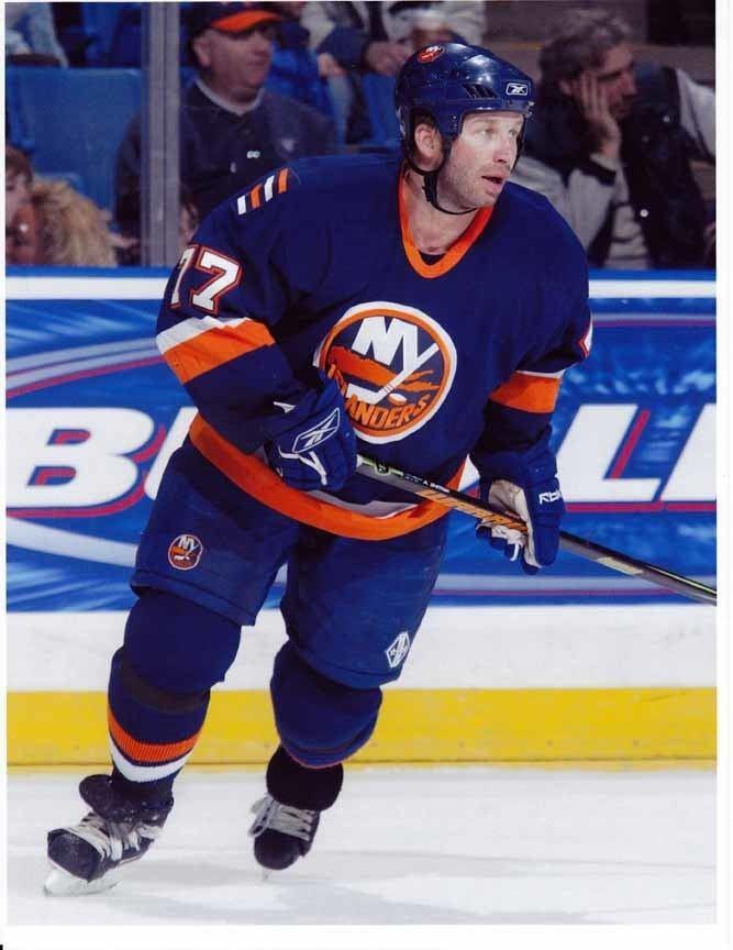 Alexei Zhitnik 200506 Alexei Zhitnik New York Islanders Game Worn Jersey
