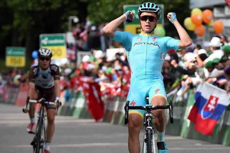 Alexey Lutsenko Geraint Thomas poised for final Tour de Suisse time trial