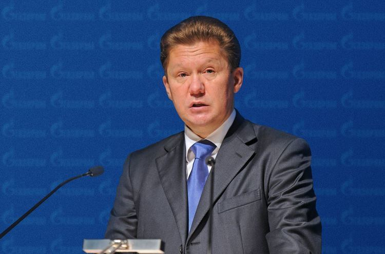 Alexey Miller Russian Gazprom Inks Deal to Double Azeri Gas Purchases